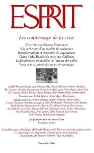 Revue Esprit Novembre 2009