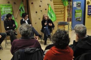 Lucile Schmid, Cécile Duflot, Corinne Praznoczy